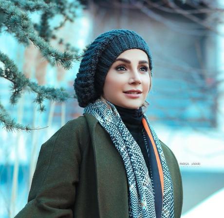 آرایش غلیظ شبنم قلی خانی بازیگر نقش مریم مقدس + عکس ها