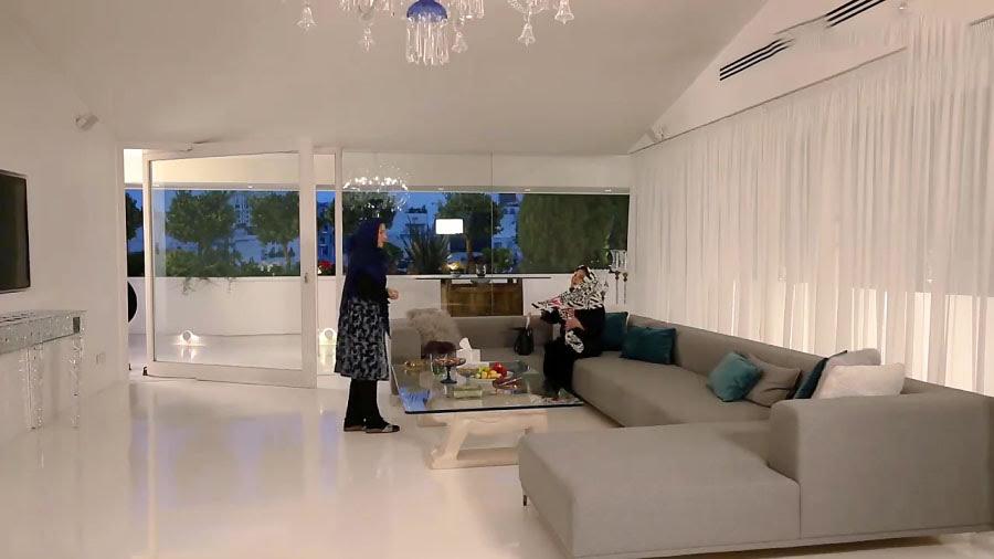 فریبا نادری از منزل میلیاردی اش رونمایی کرد + عکس ها