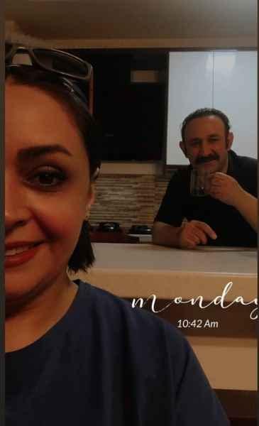 فاصله سنی 20 ساله همسر هدایت هاشمی / مهشید ناصری کیست؟ + عکس